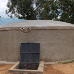The Water Project: Jamulongoji Primary School -  Completed Rain Tank