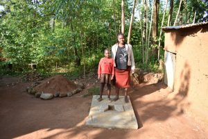 The Water Project:  Posing With A New Sanplat