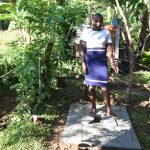 The Water Project: Emusaka Community, Muluinga Spring -  Standing On A New Sanplat