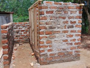 The Water Project:  Latrines In Progress