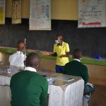 The Water Project: Makunga Secondary School -  Trainer Protus In Action