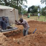 The Water Project: Jamulongoji Primary School -  Digging Tank Soak Pit
