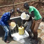 The Water Project: Mukhweso Community, Shemema Spring -  Water Celebrations