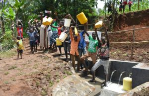 The Water Project:  Total Excitement At The Spring