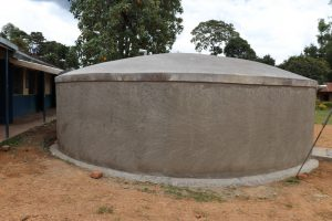 The Water Project:  Finished Dome