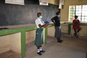 The Water Project:  Active Participation By The Students