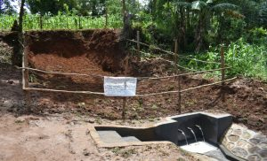 The Water Project:  Completed Shemema Spring
