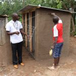 The Water Project: Jamulongoji Primary School -  Field Officer Erick Inspects The Artisans Work