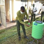The Water Project: ACK St. Peter's Khabakaya Secondary School -  Handwashing