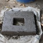 The Water Project: Jamulongoji Primary School -  Latrine Slab