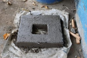 The Water Project:  Latrine Slab