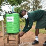 The Water Project: Makunga Secondary School -  Handwashing