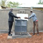 The Water Project: Makunga Secondary School -  Handing Over The Tank To The School Principal
