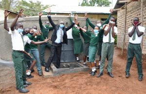 The Water Project:  Cheers And Happiness For The New Source Of Water