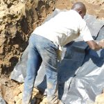 The Water Project: Emusaka Community, Muluinga Spring -  Stairs Construction