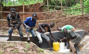 The Water Project:  Happy With Their Hard Work