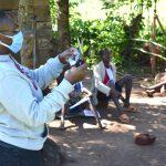 The Water Project: Emusaka Community, Muluinga Spring -  Mask Making Tutorial