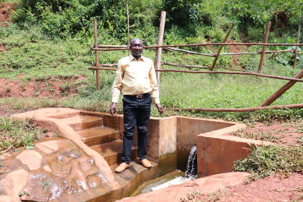 The Water Project : covid19-kenya19130-jacob-at-kenya-spring