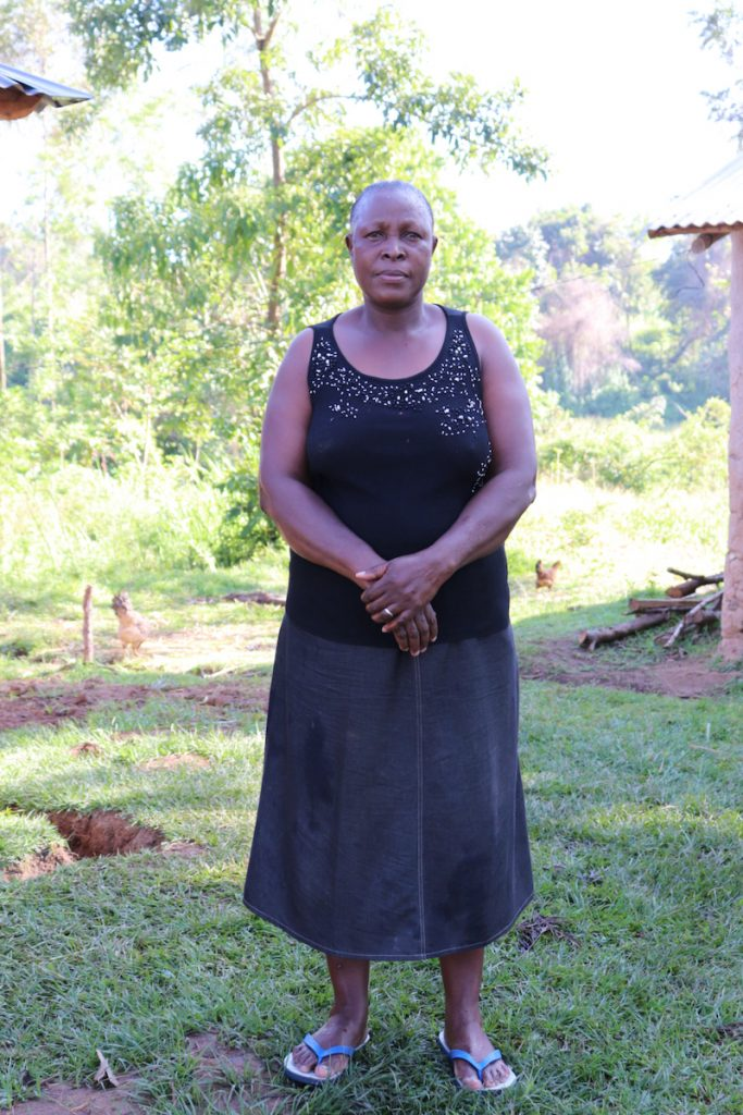 The Water Project : covid19-kenya18129-ms-felistus-shimwati