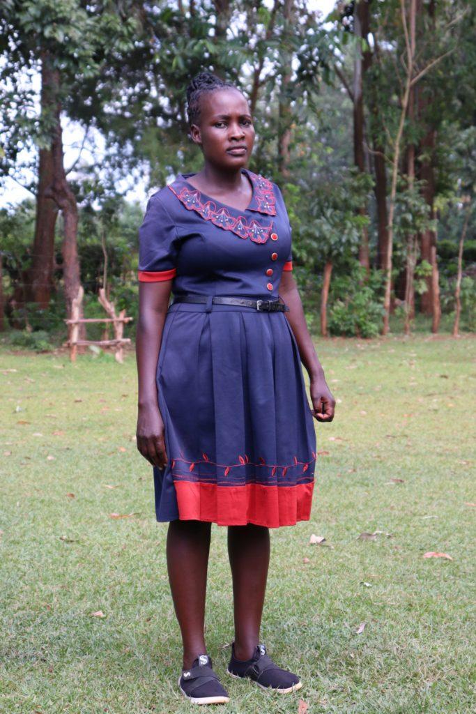 The Water Project : covid19-kenya19149-christine-magotsi-2
