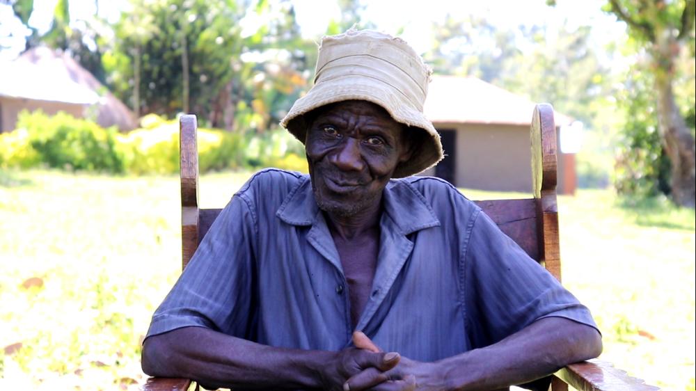 The Water Project : covid19-kenya4421-mr-peter-waswa