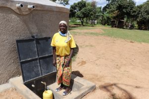 The Water Project:  Ebby Collecting Water