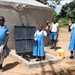The Water Project: Jamulongoji Primary School -  Students Celebrating Water