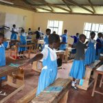 The Water Project: Jamulongoji Primary School -  Physical Distancing Test
