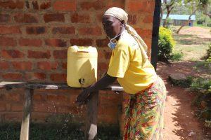 The Water Project:  School Cook Demonstrates Handwashing