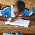 The Water Project: Jamulongoji Primary School -  Signing Up On The Participant List