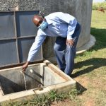The Water Project: ACK St. Peter's Khabakaya Secondary School -  Deputy Principal At The Rain Tank