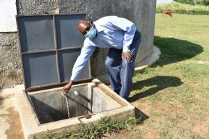 The Water Project:  Deputy Principal At The Rain Tank