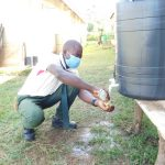 The Water Project: ACK St. Peter's Khabakaya Secondary School -  Handwashing With Soap