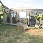 The Water Project: ACK St. Peter's Khabakaya Secondary School -  Celebrating The Rain Tank