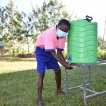 The Water Project: Eshimuli Primary School -  Handwashing