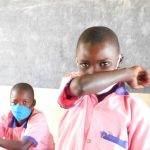 The Water Project: Eshimuli Primary School -  Learning The Safer Way To Sneeze