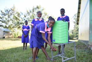The Water Project:  Students Washing Hands