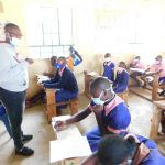 The Water Project: Eshimuli Primary School -  Trainer Jackline In Action