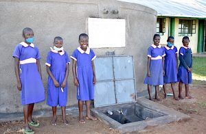 The Water Project:  All Smiles At The Rain Tank