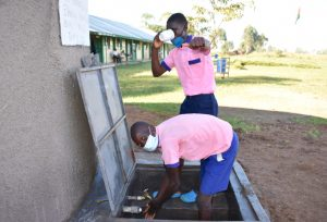 The Water Project:  Easy Drinking And Handwashing