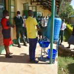The Water Project: Makunga Secondary School -  Handwashing Session
