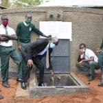 The Water Project: Makunga Secondary School -  Celebrating The Rain Tank