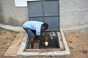 The Water Project:  A Student Gets A Drink