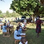 The Water Project: Isango Primary School -  A Word Of Encouragement From Faculty Patron Of Student Health Club