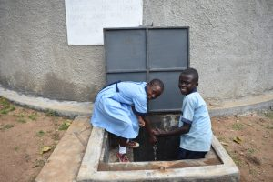 The Water Project:  Chidren At The Water Point