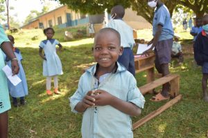 The Water Project:  A Student Smiles At Training