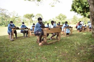 The Water Project:  Students Listening At Training