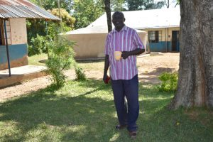 The Water Project:  Teacher Geoffrey Murunga