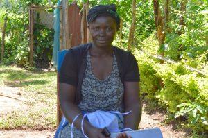 The Water Project:  Janet Eshimulinganga