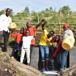 The Water Project: Bukalama Community, Wanzetse Spring -  People Celebrating Water